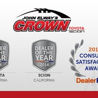 Photo taken at John Elway's Crown Toyota Scion by John Elway's Crown Toyota Scion on 3/6/2015