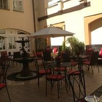 Photo taken at Platina Restaurant & Garden by Tomas N. on 7/21/2013