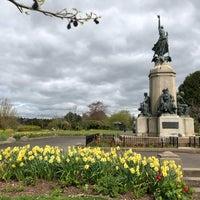 Photo taken at Northernhay Gardens by Kim B. on 4/23/2018