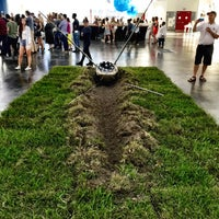 Photo taken at Texas Contemporary Art Fair by ATRS Recyling D. on 10/4/2015