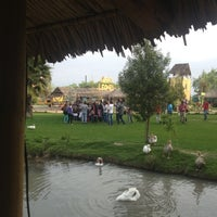 Photo taken at Parque Safari by Macarena O. on 10/13/2012