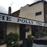 Photo taken at The Polly Tearooms by Christopher S. on 5/6/2017