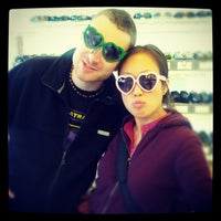 Photo taken at Sunglasses on Haight by Claus on 11/28/2012