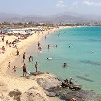 Photo taken at Agios Prokopios Beach by Tzortzis ☘ K. on 7/22/2013
