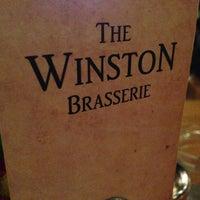 Photo taken at The Winston Brasserie by Mert C. on 2/16/2013