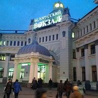 Photo taken at Belorussky Rail Terminal by Fedor B. on 4/2/2013
