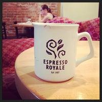 Photo taken at Espresso Royale Cafe by Teaspout on 7/14/2013