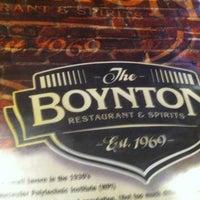 รูปภาพถ่ายที่ The Boynton Restaurant & Spirits โดย Camilla R. เมื่อ 10/25/2012