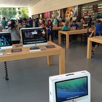 Photo taken at Apple Pioneer Place by Mick R. on 9/14/2014