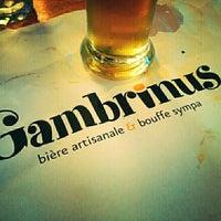 Photo prise au Gambrinus - Brasserie Artisanale par Jean-Francois P. le6/25/2014