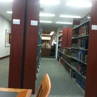 Photo taken at Lucy Scribner Library by Philip B. on 10/31/2012