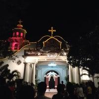 Photo taken at St. Jerome Emiliani & Sta. Susana Parish by Jonathan J. on 3/29/2013