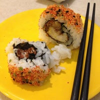Photo taken at Hei Sushi by Fatin Q. on 3/26/2013