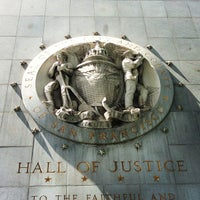 Photo taken at Hall of Justice by Gary B. on 4/25/2013