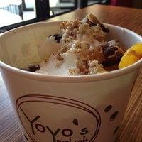 Photo taken at Yoyo's Yogurt Cafe by Chyrell S. on 4/27/2013
