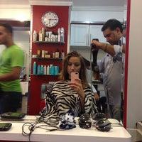 Photo taken at Fabi's Hair Studio by Queen Tetia on 9/6/2013