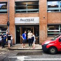 Photo taken at Allpress Espresso Bar by Irina H. on 8/26/2013