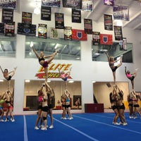 Photo taken at Elite Cheer by Molly S. on 2/3/2013