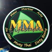 Photo taken at Maui Martial arts by Tanya V. on 9/27/2012
