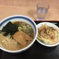 Photo taken at 箱根そば 古淵店 by どれえる on 1/22/2016
