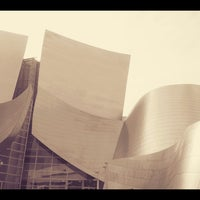 Photo taken at Walt Disney Concert Hall Cafe by A on 3/3/2013