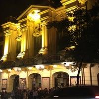 Photo taken at Teatro Renault by Camila N. on 5/25/2013