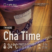 Photo taken at Chatime by Dessy on 4/9/2013