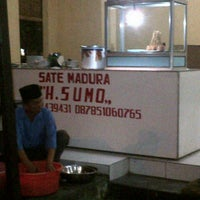 Photo taken at Sate Madura H. Sumo by fitri f. on 8/21/2013