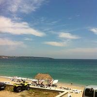 Photo taken at İğneada Plajı by hassapaki on 7/7/2013