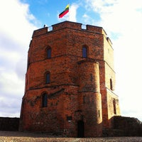 Photo taken at Gediminas' Tower of the Upper Castle by Alex P. on 4/20/2013