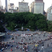 Photo taken at Union Square Park by HiDe T. on 6/9/2013