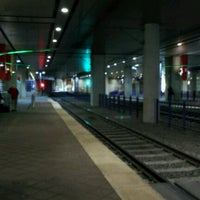 Photo taken at Convention Center Station (DART Rail) by Mike D. on 1/16/2013