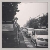 Photo taken at Jalan Raya Pasar Minggu by Teguh Z. on 6/25/2013
