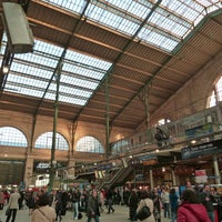 Photo taken at Paris Nord Railway Station by SNCF Gares & Connexions on 7/25/2013