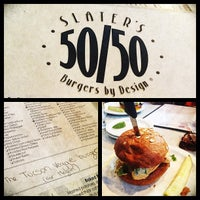 Photo taken at Slater's 50/50 by Megan W. on 7/13/2013