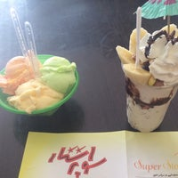 Photo taken at Super Star Ice Cream | بستنی سوپر استار by tina t. on 4/30/2015