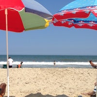 Photo taken at 22nd Street Beach by Jessie W. on 7/23/2014