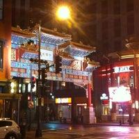 10/1/2012 tarihinde Nando v.ziyaretçi tarafından Gallery Place - Chinatown Metro Station'de çekilen fotoğraf
