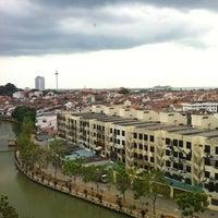 Photo taken at WANA Riverside Hotel Malacca by Aizat H. on 1/4/2013