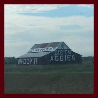 Photo taken at Gig 'Em Aggies Barn by Ashley P. on 10/23/2014