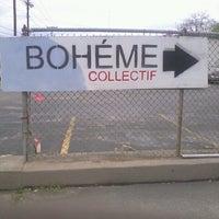Photo taken at Boheme Collectif by Chris A. on 4/18/2013
