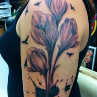 Photo taken at True Tattoo by Lauren E. on 9/24/2012