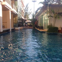 Photo taken at Royal Thai Pavilion Jomtien Boutique Resort by Iceice P. on 5/5/2016