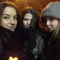 Photo taken at Парковка Минская by Alexandra S. on 1/1/2016
