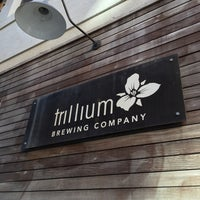Photo taken at Trillium Brewing Company by Corey M. on 11/21/2015