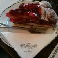 Photo taken at Café Reichard by Selen O on 2/10/2013