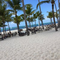 Photo taken at Playa Los Corales by Tracy F. on 7/18/2016