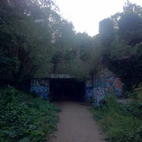 Photo taken at Parkland Walk (Crouch End to Highgate section) by Lila P. on 7/28/2013