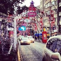 Photo taken at Abdi İpekçi Caddesi by Yılmaz O. on 12/29/2012
