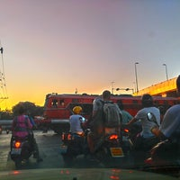 Photo taken at Yommarat Intersection by Maem-Pemika C. on 3/17/2018